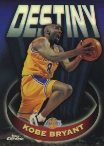 1997-98 Topps Chrome Basketball Destiny Kobe Bryant