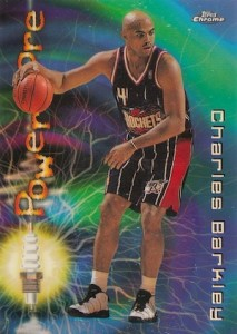 1997-98 Topps Chrome Basketball Season's Best Power Core Charles Barkley