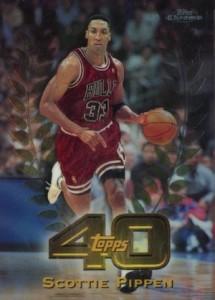 1997-98 Topps Chrome Basketball Topps 40 Scottie Pippen