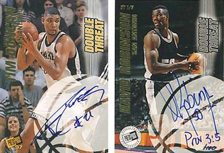 Salute to The Admiral! Top David Robinson Basketball Cards 5