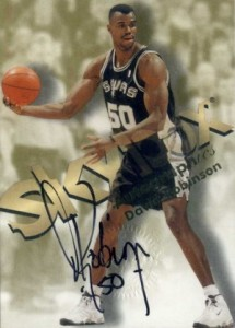 Salute to The Admiral! Top David Robinson Basketball Cards 9