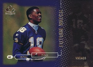 1998 SP Authentic Randy Moss RC #18