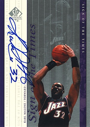 This Mailman Always Delivers! Top 10 Karl Malone Cards 11