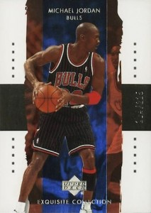 2003-04 Exquisite Collection Base Michael Jordan