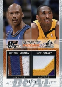 Top Michael Jordan Game-Used Washington Wizards Cards 15