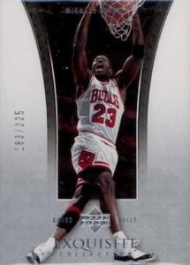 2004-05 Exquisite Collection Base Michael Jordan