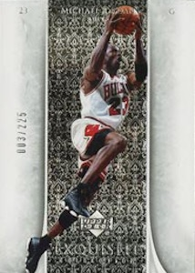 2005-06 Exquisite Collection Base Michael Jordan
