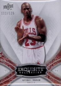 2008-09 Exquisite Collection Base Michael Jordan