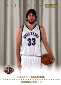 Marc Gasol Rookie Card Guide and Checklist 4