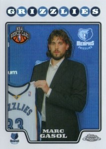 2008-09 Topps Chrome Marc Gasol RC #212