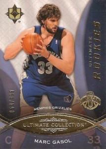 2008-09 Ultimate Collection Marc Gasol RC #100