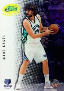Marc Gasol Rookie Card Guide and Checklist 2