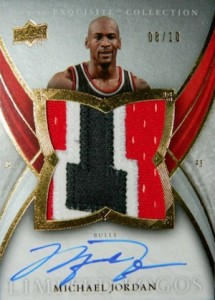 2009-10 Exquisite Collection Limited Logos Michael Jordan