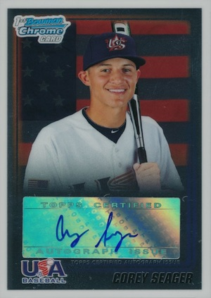 Top Corey Seager Rookie Cards and Prospect Cards 33