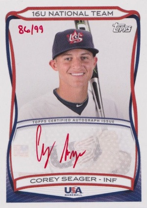 Top Corey Seager Rookie Cards and Prospect Cards 34