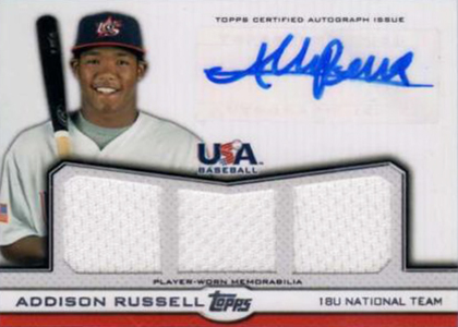 Get to Know the Top Addison Russell Prospect Cards 5