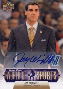 2011 UD World of Sports Autographs Jay Wright #74