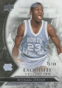 2012-13 Exquisite Collection Base Michael Jordan
