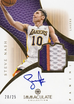 Hall of Fame Bound! Top Steve Nash Basketball Cards 15