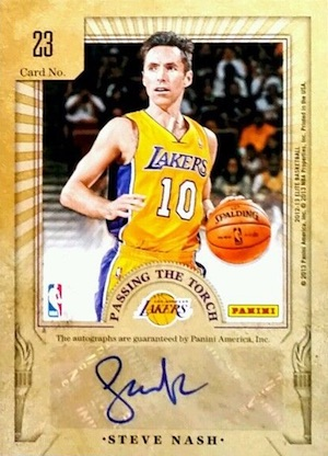 Hall of Fame Bound! Top Steve Nash Basketball Cards 13
