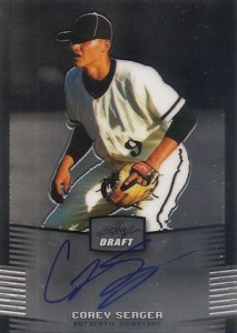 Corey Seager Rookie Cards Checklist and Top Prospect Cards - Rookie of the Year 36
