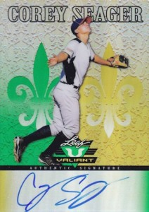 Corey Seager Rookie Cards Checklist and Top Prospect Cards - Rookie of the Year 38