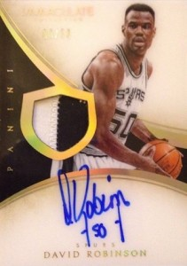 Salute to The Admiral! Top David Robinson Basketball Cards 15