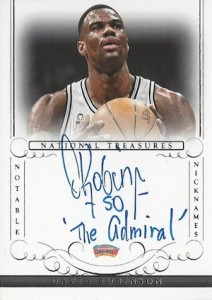 Salute to The Admiral! Top David Robinson Basketball Cards 13