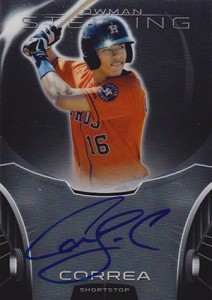 These Early Carlos Correa Cards Are Worthy of Your Consideration 12