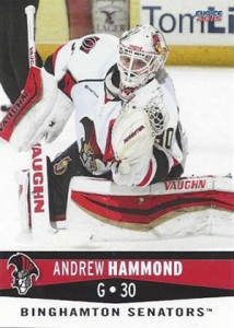 Curious About Andrew Hammond Rookie Cards? There Aren't Many. 4
