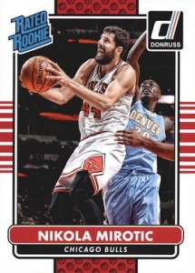 2014-15 Donruss Nikola Mirotic RC #219