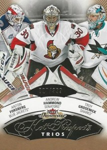 2014-15 Fleer Showcase Andrew Hammond RC