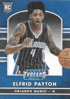 2014-15 Panini Threads Basketball Leather RC Elfrid Payton