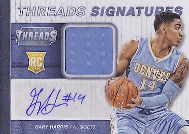 2014-15 Panini Threads Basketball Cards 32