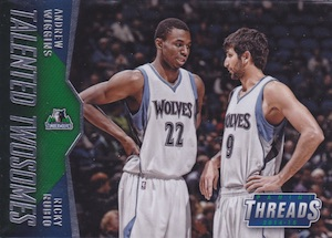 2014-15 Panini Threads Basketball Cards 34