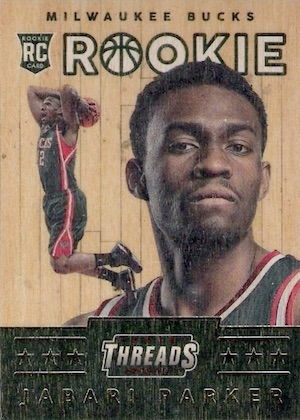 2014-15 Panini Threads Basketball Wood RC Jabari Parker