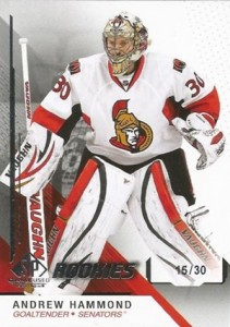 2014-15 SP Game Used Andrew Hammond