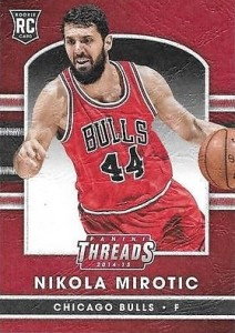 2014-15 Threads Nikola Mirotic RC leather
