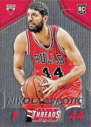 2014-15 Threads Nikola Mirotic RC micro-etched