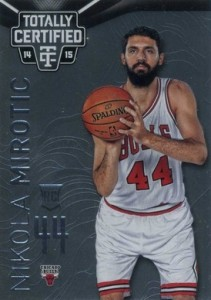 2014-15 Totally Certified Nikola Mirotic RC #150