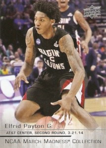 2014-15 Upper Deck March Madness Elfrid Payton