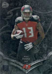 2014 Bowman Sterling Mike Evans RC #10