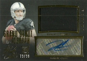 2014 Panini Black Gold Football Cards 29