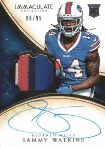Sammy Watkins Rookie Card Guide and Checklist 36