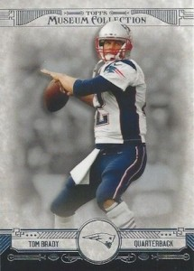 2014 Topps Museum Collection Football Base Tom Brady