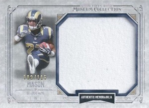 2014 Topps Museum Collection Football Jumbo Relics