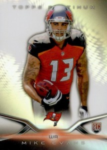 Mike Evans Visual Rookie Card Guide and Checklist 31