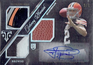 Johnny Manziel Cards, Rookie Cards, Key Early Cards and Autographed Memorabilia Guide 23