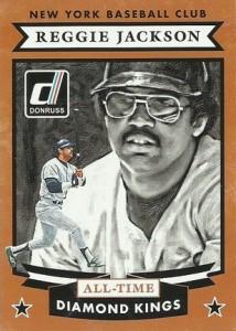 2015 Donruss Baseball All-Time Diamond Kings Reggie Jackson