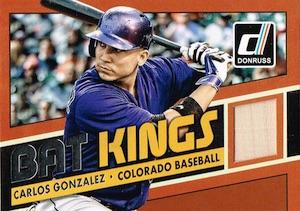 2015 Donruss Baseball Bat Kings Relics